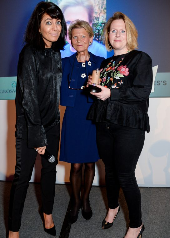 Claudia Winkleman, Annie Walker and Lucy Pridden