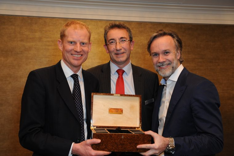 Photo Must Be Credited ©Edward Lloyd/Alpha Press 080000 17/01/2018at the Belgravia Awards 2018 held at the Jumeirah Carlton Tower Hotel in Belgravia, London