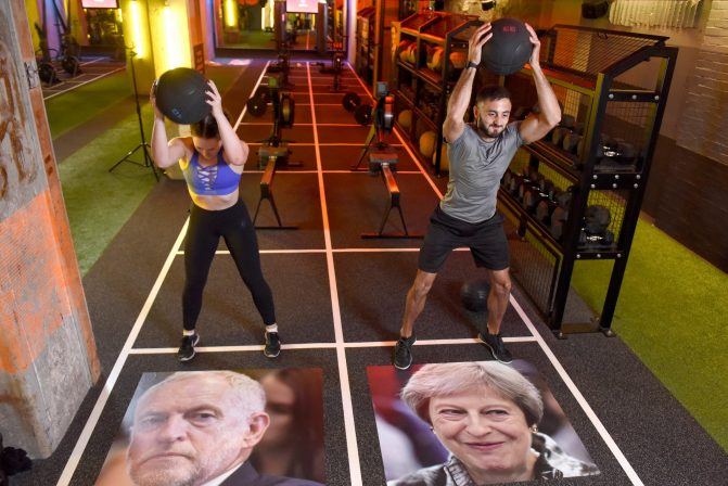 Brexit. That word alone is enough to send you into a sweat-inducing frenzy of confusion and anger. Which is why GYMBOX has launched BREXFIT. London's newest and best gym class designed specially to release pent-up frustration and anger at our countryís incompetent politicos.